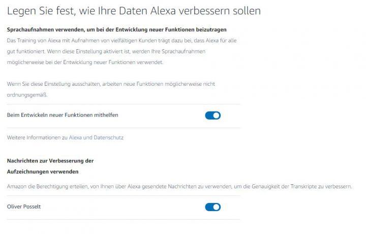Amazon-Mitarbeiter lauschen Alexa-Gesprächen