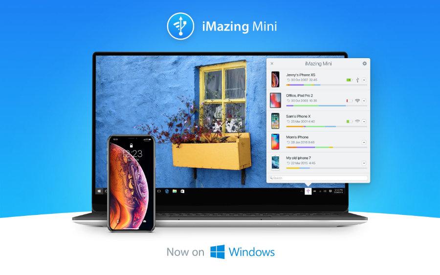 iMazing Mini: Kostenlose iPhone- und iPad-Backup-Software ab