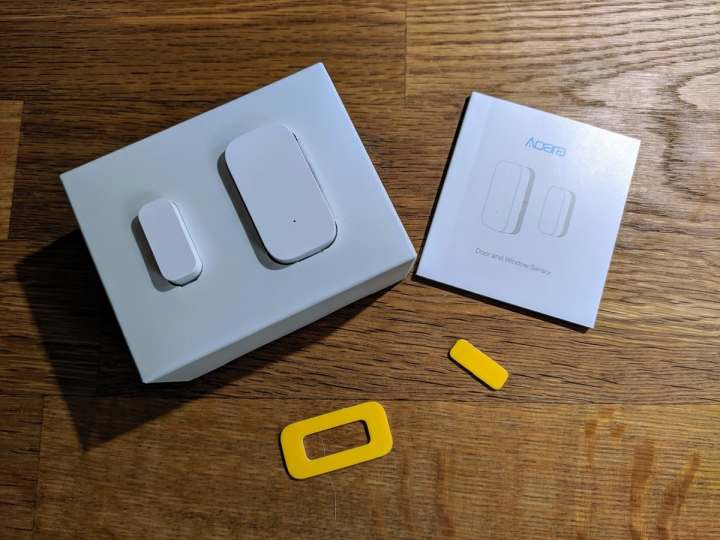 Xiaomi Aqara Tür- und Fenster-Sensor angeschaut