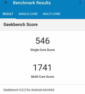 Geekbench (Kerne)