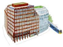 Illustration der GASAG-Zentrale