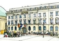 Illustration vom Hotel de Rome