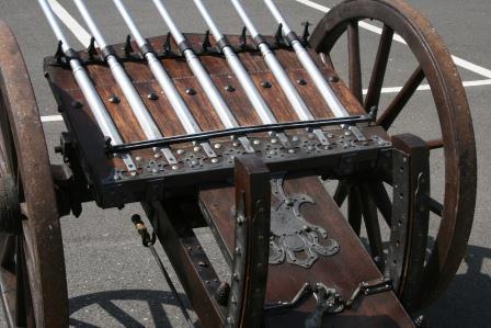 Schweres Geschütz - die Kanone der Musketiere