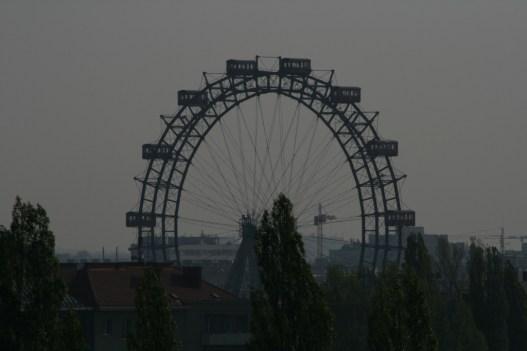 Wien - Blick auf Prater Riesenrad