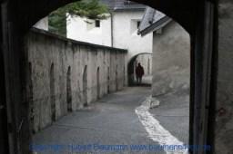 Burg Hohenwerfen Außenanlage