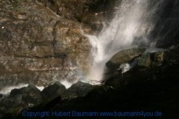 Großarl - auf dem Weg zur Kreealm - Wasserfall 012