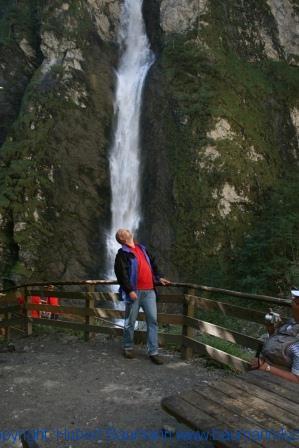 Liechtensteinklamm 557 - Wasserfall am Klammende