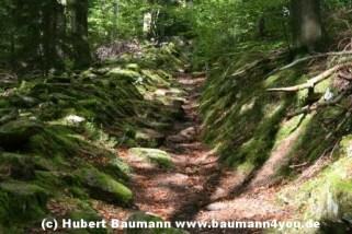 Weg Steinmark Schleiftor zur Karlshöhe 076
