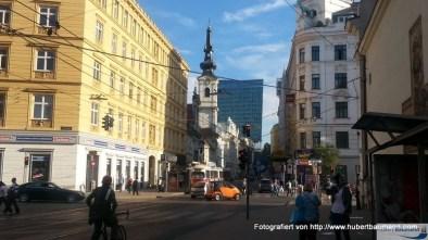 2. Bezirk Taborstraße an der Karmeliterkirche