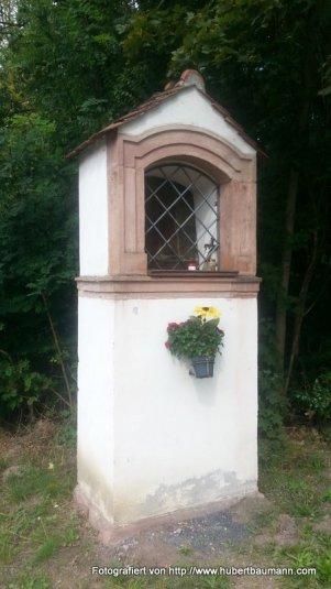 Aschaffenburg Fasanerie Bildstock
