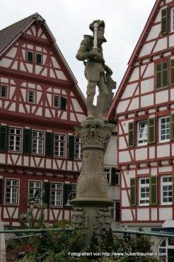 Leonberg Marktbrunnen
