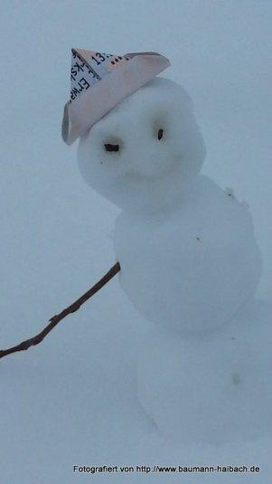 Schneemann - Winterspass / Skifahren am Engländer - 2015