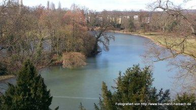 Blick vom Turm im Park Schönbusch - Aschaffenburg