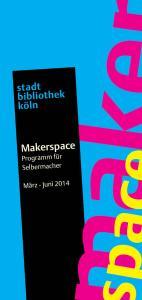 Programm Makerspace_Deckblatt