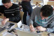 Aktoren, Sensoren und Mikrocontroller im Arduino-Workshop.