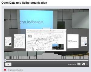 Szenenerkennung des AV-Portals der Technischen Informationsbibliothek