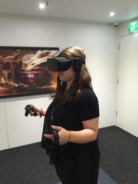 Oculus Touch mit dem Spiel Ripcoil testen
