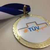 Eine unserer Medaillen.