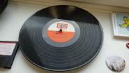 Vinyl-Uhr ©Stadtbibliothek Köln