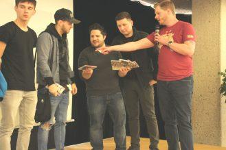 Siegerehrung und Gewinnaufteilung Team-Ladder