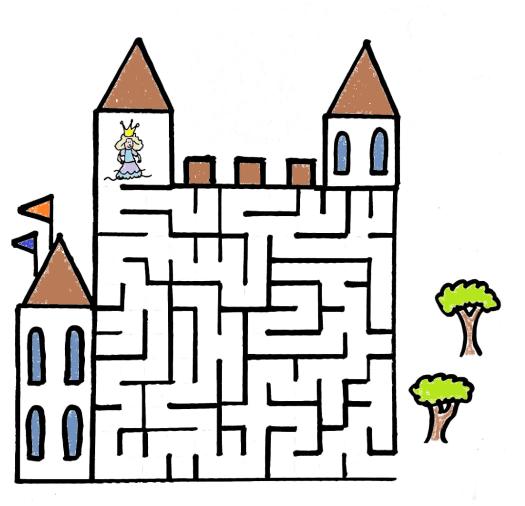 Rätsel 1 Labyrinth