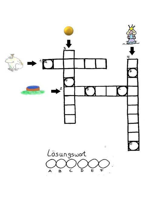 Rätsel 3 Kreuzwort
