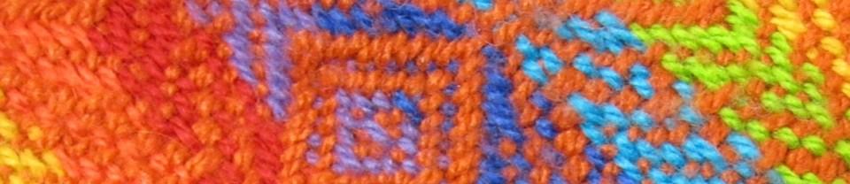 Muster in leuchtenden Farben