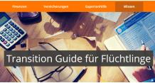 Link zum Transition Guide für Flüchtlinge von FinanceScout24