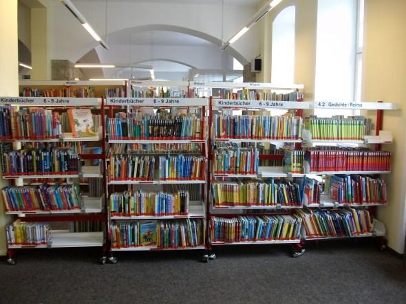 In der Kinderbücherei
