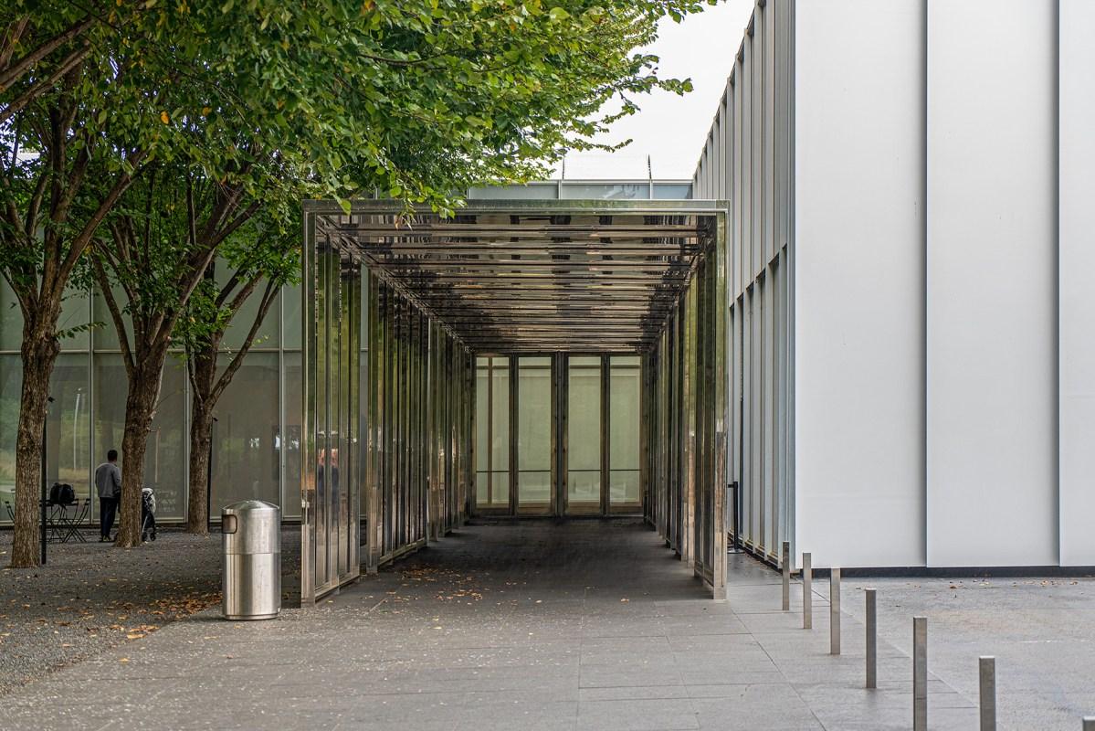 Eingang des Raleigh Art Museum
