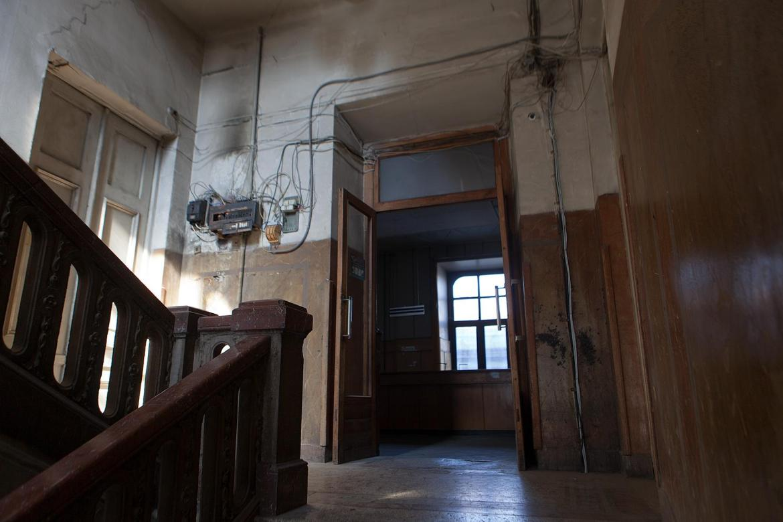 Erste Etage in der Post in Tiflis