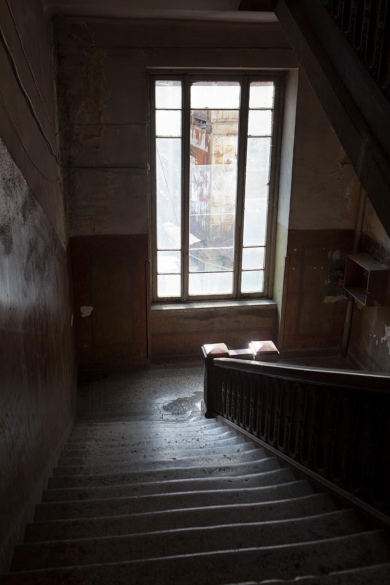 Treppenhaus der Post in Tiflis