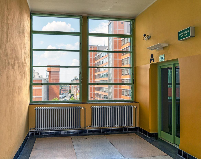 Etage im Bata Hochhaus in Zlin