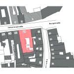 Johannisstrasse 49, Lageplan