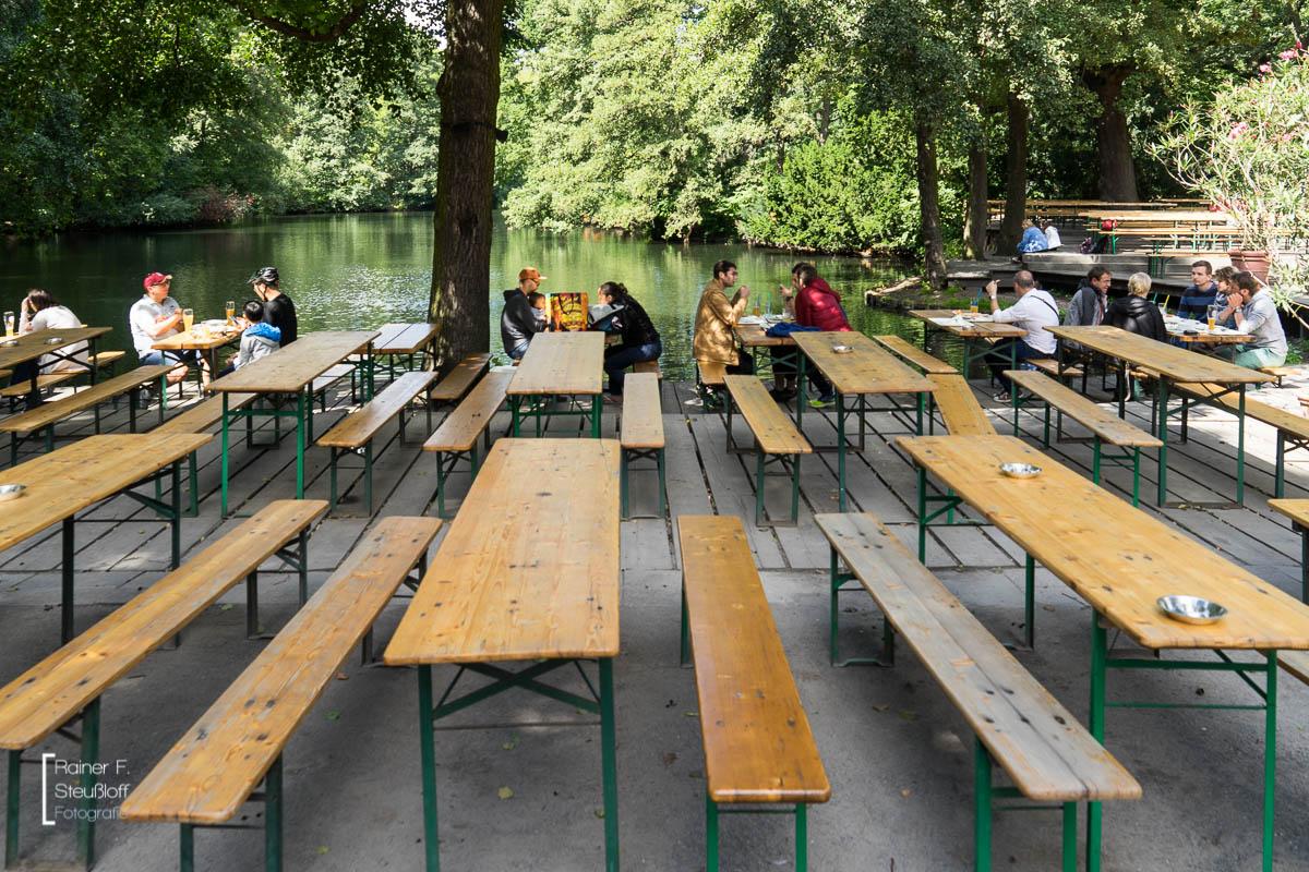 Biergarten am Neuen See