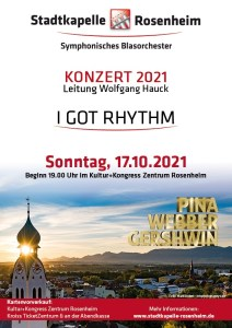 I GOT RHYTHM @ Kultur+Kongress Zentrum Rosenheim