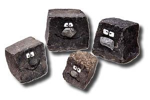 Basaltköpp' – Basaltsteine