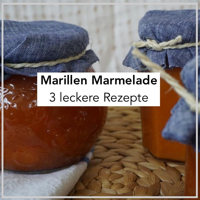 Rezept Marillen Marmelade