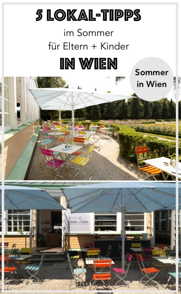 Ihr sucht nach Kinderfreundlichen und Babyfreundlichen Lokalen in Wien? Andrea von Babymamas verrät euch ihre Lieblingslokale für entspanntes Essen und Jausnen (Urlaub in Wien, WIen Tipps, WIen-Tipps, Tipps für Wien, Kinder in Wien, Essen in Wien, Sommer in Wien)