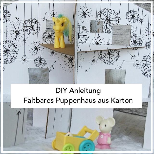 Puppenhaus aus Pappe selber machen