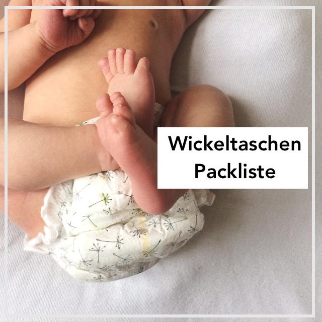 Wickeltasche Packliste
