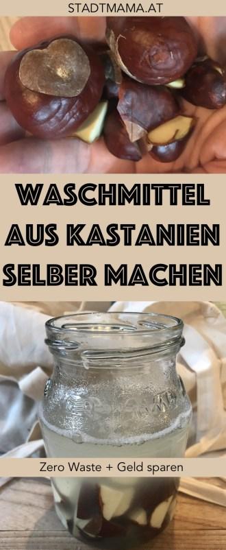 Waschmittel aus Kastanien herstellen geht ganz einfach und ist sehr wirkungsvoll. Außerdem eignen sich Kastanien noch für Shampoo, Kosmetik, als Putzmittel oder als Zahnpasta.
