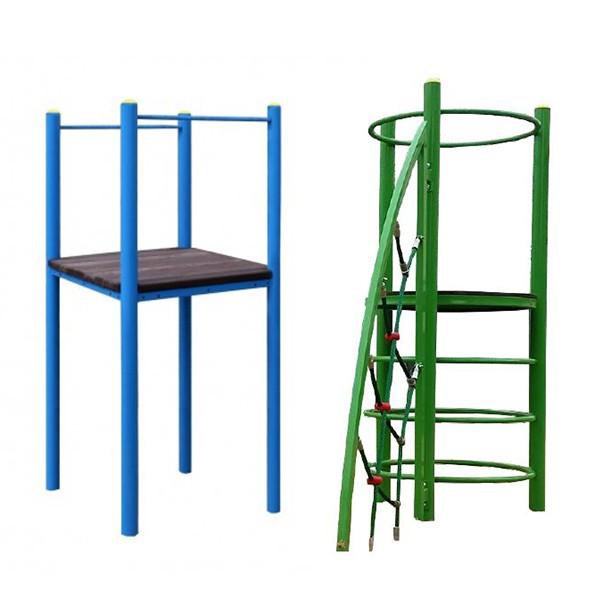 Spielturmstruktur ohne Überdachung EZ-02b