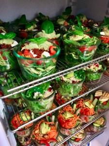 Salatgläschen