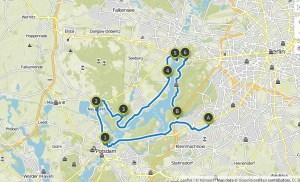 Fahrradtour Berlin-Sacrow