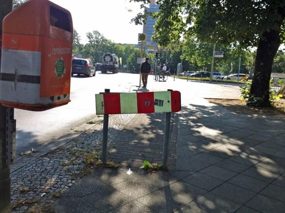 """Solchen """"Radwegen"""" will die Initiative den Kampf ansagen Foto: Link"""