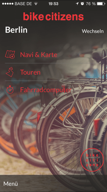 Die Bike Citizens Navigations-App