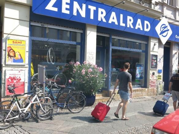 Zentralrad in Kreuzberg