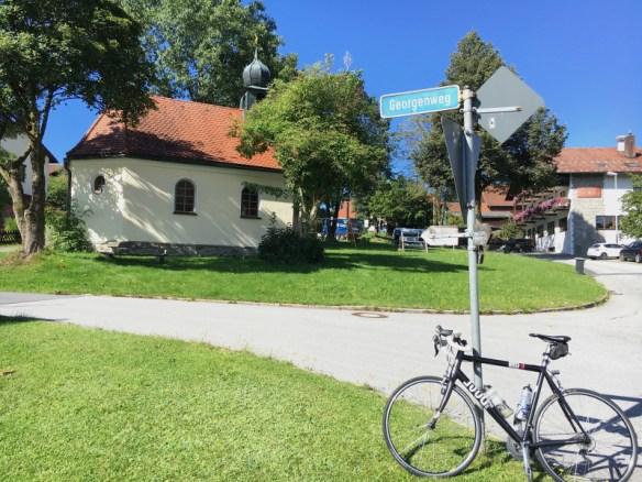 Kirche, Rennrad, Bayerischer Wald