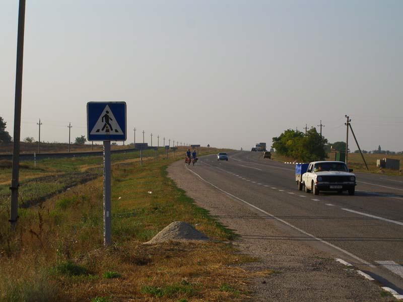 Auf dem Weg nach Krasnoperekopsk